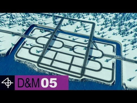 Planning the Industrial Road Layout | Unmodded Cities: Skylines – Design and Manage, Part 5