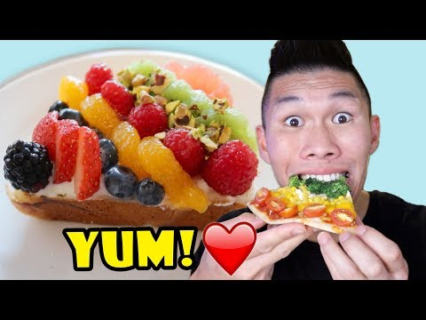 RAINBOW COLORED FOODS: Tasty DIY || Life After College: Ep. 580