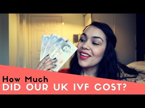 How much did our UK Fertility Treatment Cost? IVF/ICSI Vlog