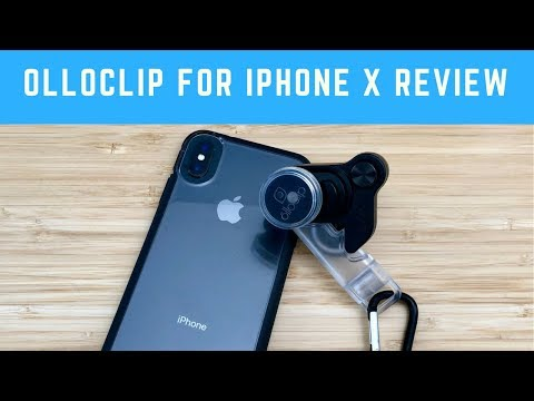 Olloclip Lens for iPhone X Review: Connect X System