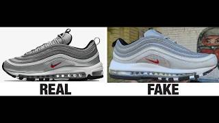 187b2304007 03 02 · How To Spot Fake Nike Air Max 97 Sneakers   Trainers Authentic vs  Replica Comparison