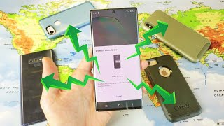 Galaxy Note 10 Plus: How to Use Wireless Powershare (Does It Charge With Cases On?)