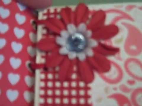 Mini Album mini cereal box