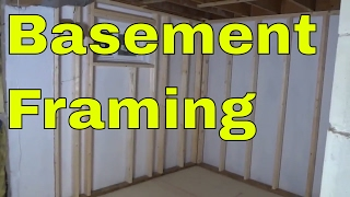 Basement Framing Progress-DIY
