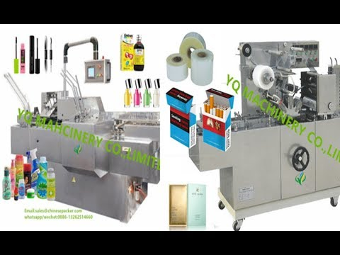 non-woven fabrics cartoning machine box wrapping machine paper box packaging machine
