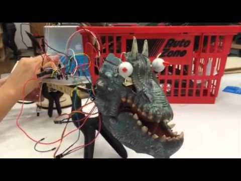Marginally Animatronic Dragon