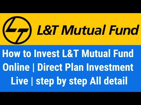 How to Invest L&T Mutual Fund Online | Direct Plan Investment | step by step All detail Hindi