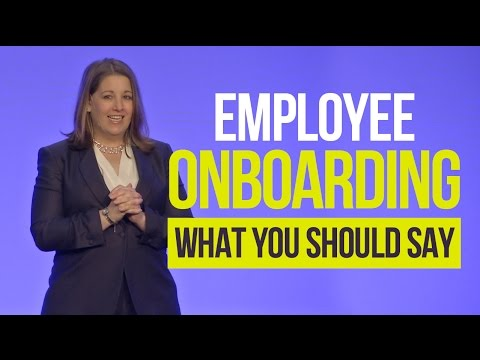 Employee Onboarding - Kicking Off Relationships With New Employees | Shari Harley