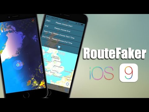 RouteFaker tweak lets you simulate different travel routes with a false location