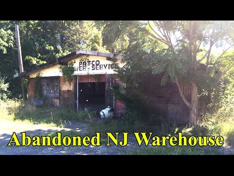 Abandoned NJ Mower Service Warehouse Vacant New Jersey Building Structure