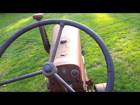 1949 JI CASE VAC Tractor walk around & test drive