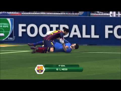 Scoring Goals With Messi As The Keeper - FIFA 14 (XBOX 360)