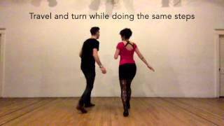 Intro to Swing - Lindy hop 6-count basics