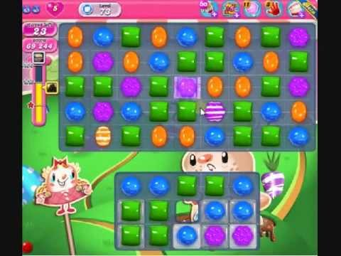 How to beat Candy Crush Saga Level 73 - 3 Stars - No Boosters - 131,744pts