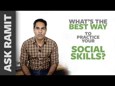 Ask Ramit: What's the best way to practice your social skills?