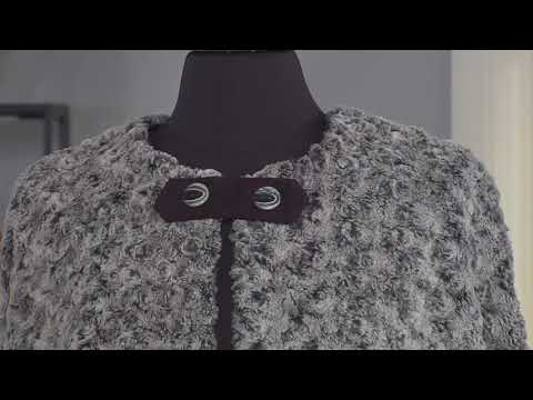 Make a warm and luxurious cape on It's Sew Easy with Joanne Banko (1504-1)