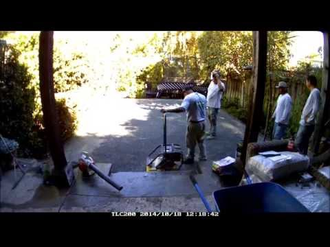 Heavenly Greens Artificial Grass & Synthetic Turf Systems Timelapse Install