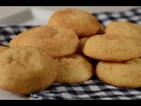 Snickerdoodles Recipe Demonstration - Joyofbaking.com