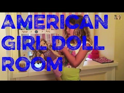 American Girl Doll Room