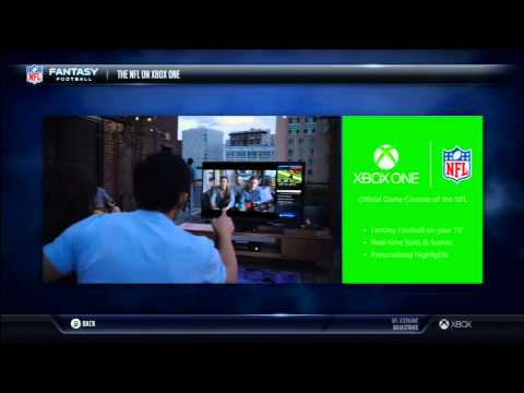 First Xbox One Commercial featuring the NFL