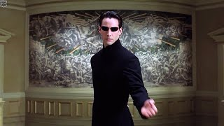 Neo vs Merovingian | The Matrix Reloaded [IMAX]