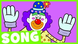 Eyebrows Up! | Simple Body Parts Song for Kids