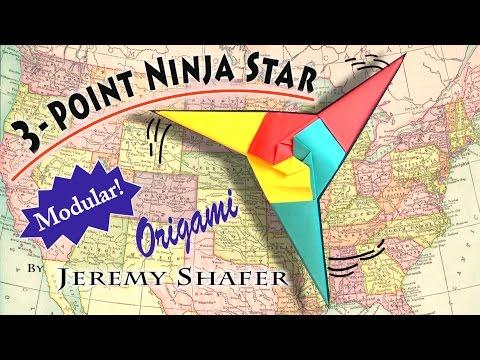Three Point Ninja Star