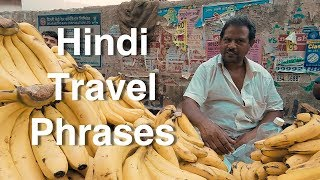 Easy Hindi Travel Phrases for India