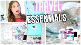 What's In My Carry On Bag! ♡ Travel Essentials