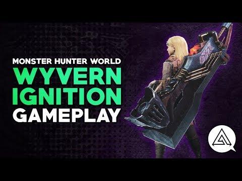 Monster Hunter World | Wyvern Ignition Greatsword Gameplay & Breakdown