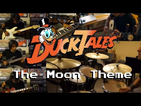 DuckTales - The Moon Theme Meets Serge (on Guitar Bass Piano Drums and More)