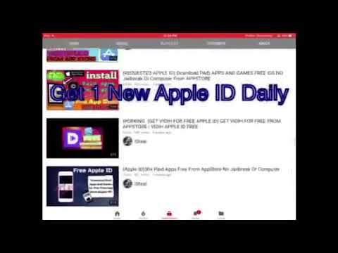 Check my Friend Channel : Get new Apple ID everyday