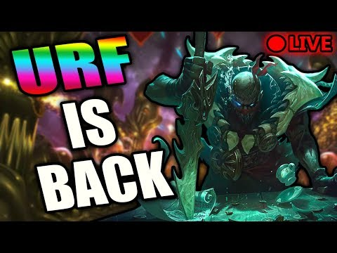 PYKE IN URF | PBE URF | NEW ITEMS AND NEW CHAMPION IN URF - League of Legends Patch 8.11
