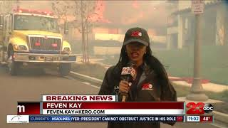 Southern California homes destroyed as Thomas Fire burns thousands of acres