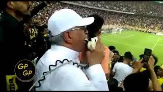 صالح القرني يااعز الناس طولت الغيبة  مباراة الاتحاد والوصل  البطولة العربية