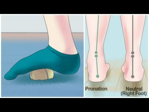 Get rid of foot and leg pain with a simple tennis ball