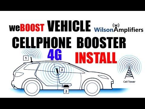 4G CELLPHONE BOOSTER INSTALL