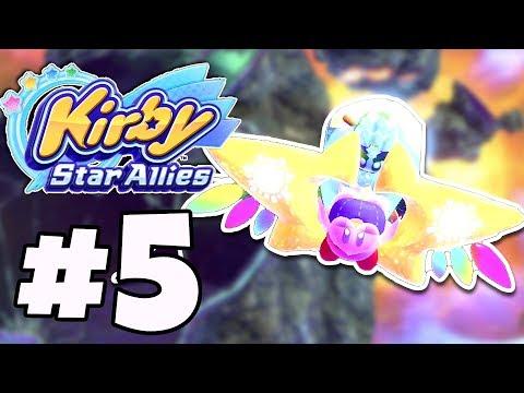 Kirby Star Allies Gameplay Walkthrough Part 5 - Jambandra Base 'CRAZY HYNESS BOSS'