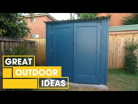 How To Build Your Own Shed   Outdoor   Great Home Ideas
