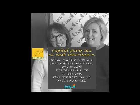 Capital Gains Tax on cash inheritance