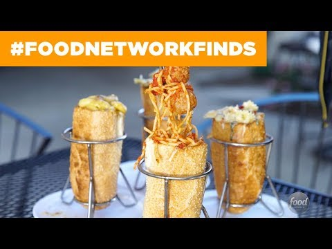 Pasta-Stuffed Sandwiches at Torpasta: Devine Pastabilities | Food Network