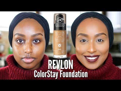 THE BEST DRUGSTORE FOUNDATION?! | Revlon ColorStay Foundation | #FOUNDATIONWEEK