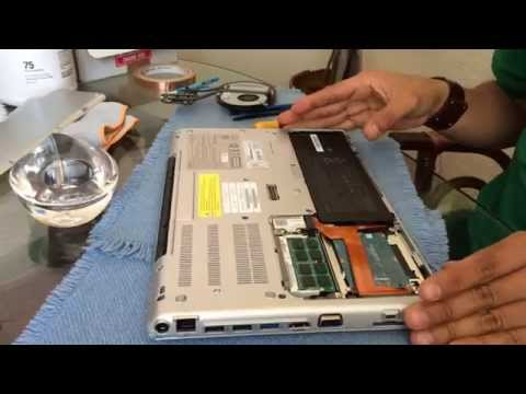 How to Open Laptop Fix Fan Sony Laptop VPCSA
