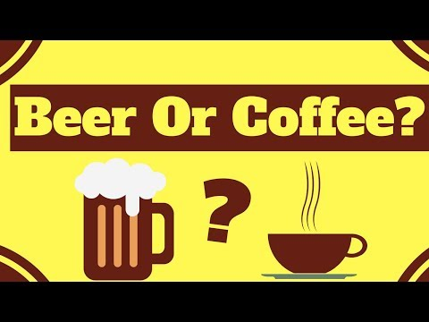 Beer or Coffee ☕ Starbucks Gets Creative With Caffeine | Nitro Cold Brew Coffee