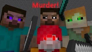 MINECRAFT MURDERS! (Minecraft Animation/ Music Video) - Murder! by BoyInABand Ft. Minx and Chilled