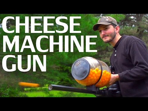 How To Make A Cheese Ball Machine Gun - NightHawkInLight