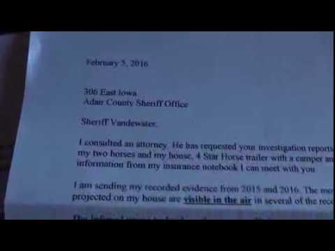 2016 02 09 - LETTER SENT TO SHERIFF REQUESTING INVESTIGATION OF MY INSURANCE CLAIMS