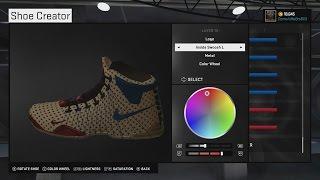 97116dea960b NBA 2K15 - Customize 2K Shoes