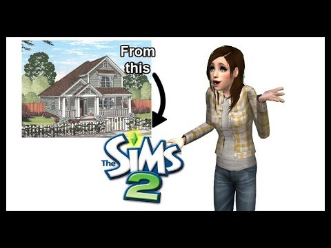 Tips on Making Realistic Houses in Sims 2 | How to Sims Machinima Episode 1 | TheMixedBagOfWhat