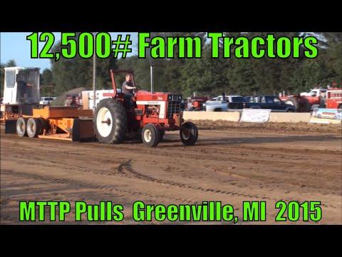 MTTP PULLS GREENVILLE, MICHIGAN  FIELD FARM TRACTORS  AUGUST 21ST, 2015